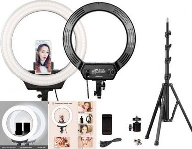 Kingjoy AFI LED Ring Light R116 Statief kit