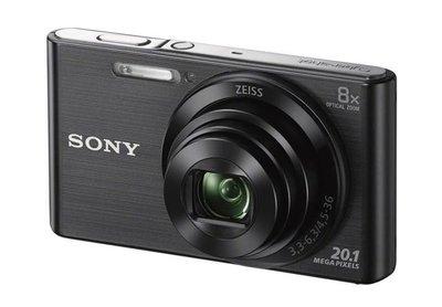 Sony DSC W830 zwart
