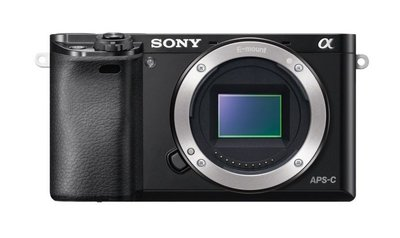 Sony Alpha ILCE-6000 Body zwart