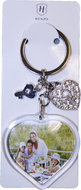 Sleutelhanger pasfoto Heart & Ornaments 81.033.00