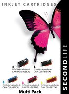Secondlife inkt Multipack Canon 580 & 581