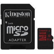 Kingston microSDHC Card 32GB U3 100R 70W 4K Canvas React incl. adapter