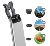Celly Flashligt Lens Kit 3in1 voor smartphone